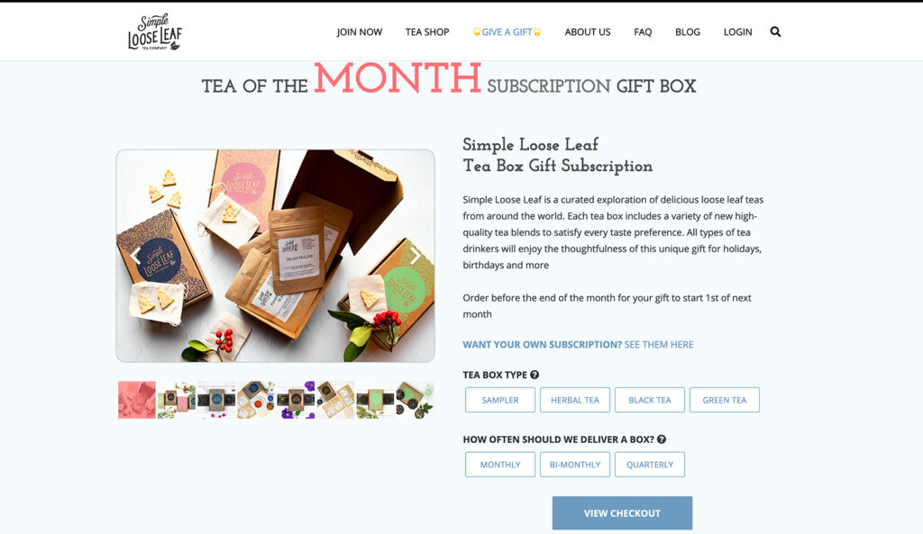 subscription products recurring revenue