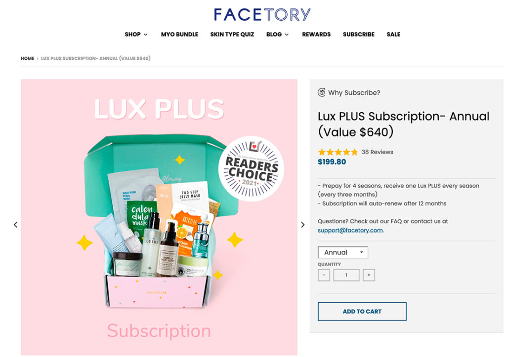 subscription business model examples